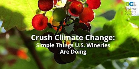 Wine Industry Climate Action Webinar billets