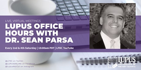 Lupus Office Hours with Dr. Parsa (Virtual) tickets