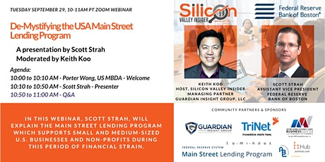 De-Mystifying the USA Main Street Lending Program Webinar tickets