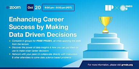 Enhancing Career Success by Making Data Driven Decisions tickets