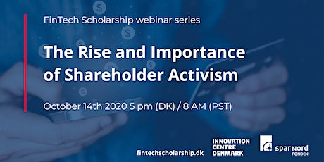 Webinar: The Rise and Importance of Shareholder Activism tickets