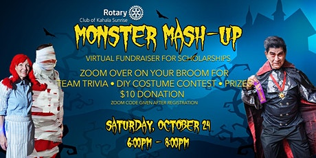 Rotary Monster Mash-up  Zoom Trivia & Costume Contest tickets