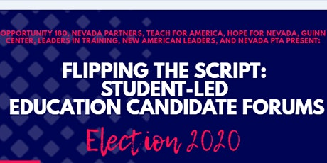 Flipping the Script: Student-Led Candidate Forums tickets