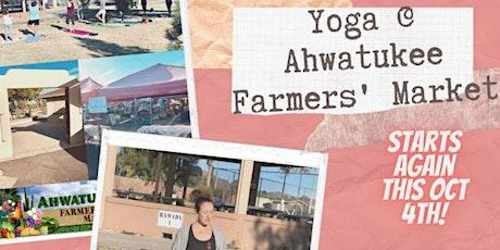 Sunday Yoga @ Ahwatukee Farmers' Market (donation based class) tickets