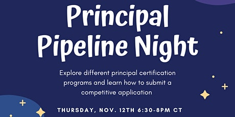Principal Pipeline Night tickets