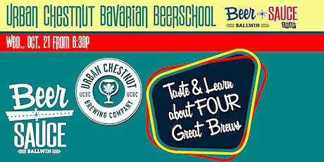 Urban Chestnut Bavarian BeerSchool