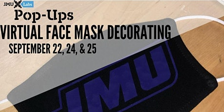 Virtual Face Mask Decorating Pop-Up tickets
