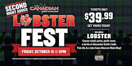 Lobster Fest 2020 (St. Albert - Jensen Lakes) - Night 1 tickets