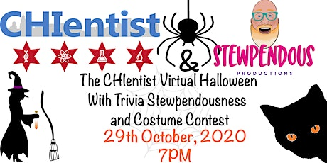 Chientist Virtual Halloween  with Stewpendous Trivia and Costume Contest tickets