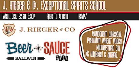 J Rieger Exceptional Spirits School