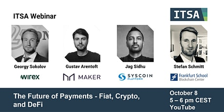 The Future of Payments - Fiat, Crypto, and DeFi tickets