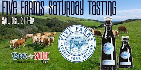 Five Farms Irish Cream Saturday Tasting