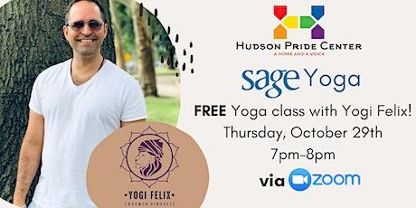 Virtual SAGE Class with Yogi Felix! tickets