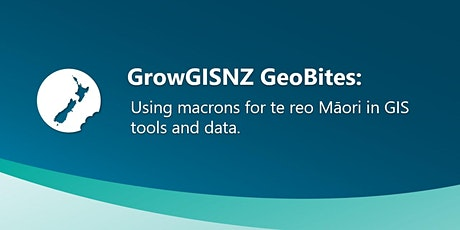 Using macrons for te reo Māori with NZ GIS tools and data tickets