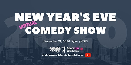 New Year's Eve starring ApocaLips Comedy Show (Virtual Event) tickets