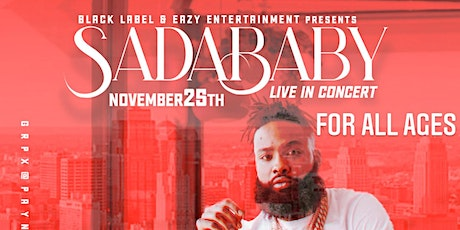 SADA BABY LIVE AT SCOTTISH RITE TEMPLE tickets