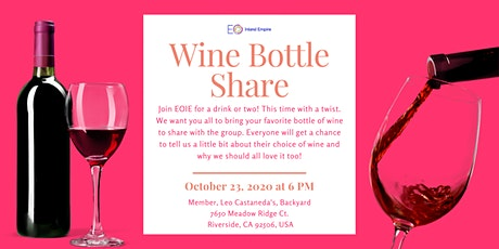 Wine Bottle Share - Happy Hour tickets