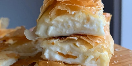 Online Cooking Class - Cretan Cheese Bougatsa tickets