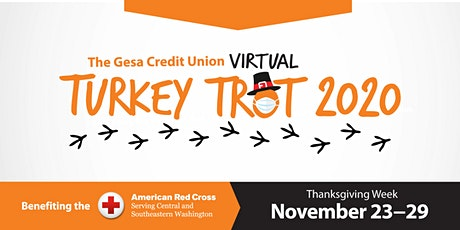 Gesa 2020 Virtual Turkey Trot benefiting the American Red Cross tickets