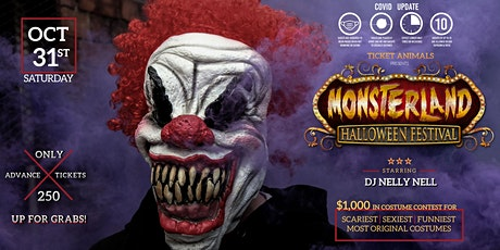 MonsterLand Halloween Festival tickets