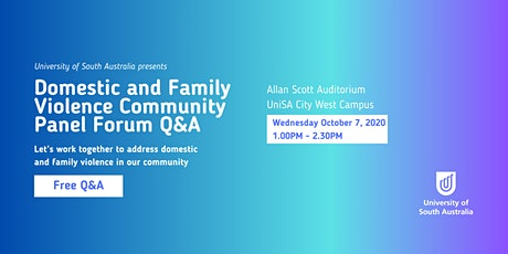 Domestic & Family Violence Community Panel Forum Q&A tickets