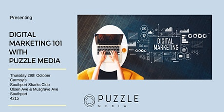 Digital Marketing 101 with Puzzle Media tickets