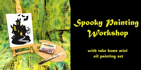 Spooky Oil Paint Workshop with Paint Kit Included tickets
