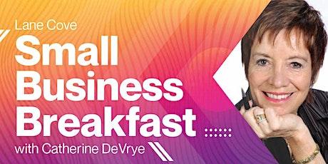 Small Business Breakfast with Catherine DeVrye - Virtual Seminar tickets