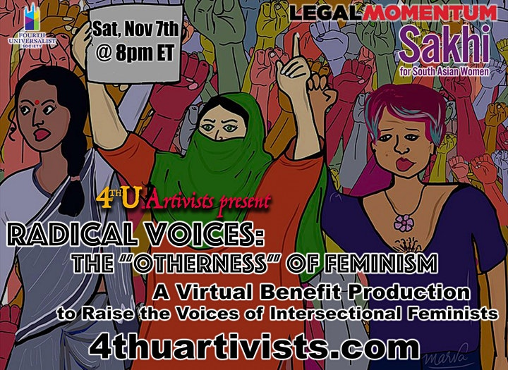 """Radical Voices: The """"Otherness"""" of Feminism (Online Live Production) image"""
