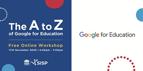 The A to Z of Google for Education tickets