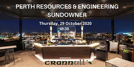 Perth Resources & Engineering Sundowner tickets