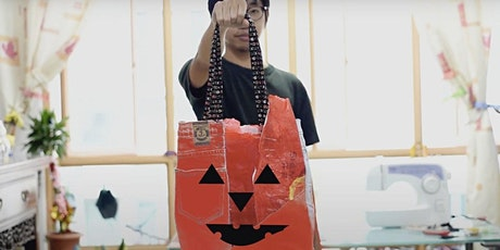Upcycling, Halloween themed Tote Bag Design [PIXEL Labs@NLB] | MakeIT