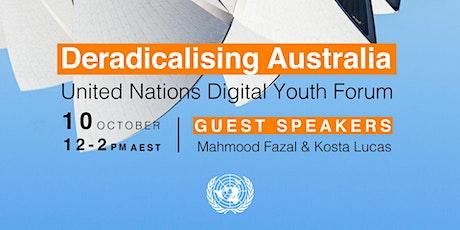 Deradicalizing Australia - UN YOUTH Forum (online) tickets