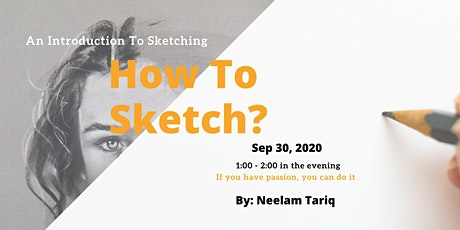 Introduction To Sketching tickets