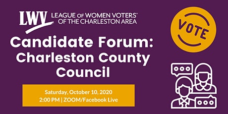 Candidate Forum: Charleston County Council tickets