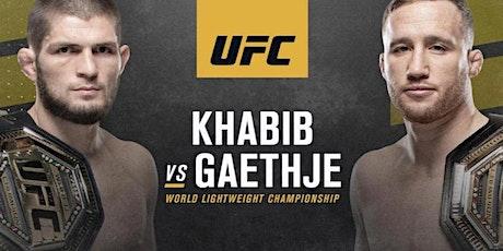 UFC 254: Khabib vs. Gaethje tickets