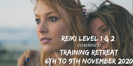 Reiki Level 1 and 2 Course and Retreat tickets