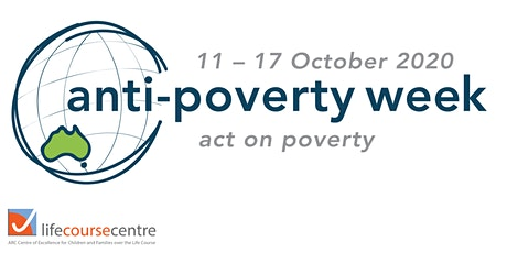 Life Course Centre Anti-Poverty Week 2020 tickets