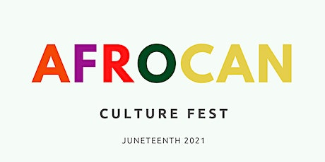 Vendors & Sponsors: AfroCAN Festival 2021 tickets
