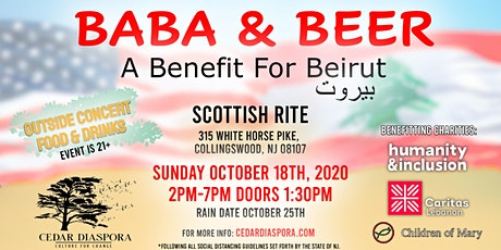 Baba and Beer - A Benefit for Beirut tickets