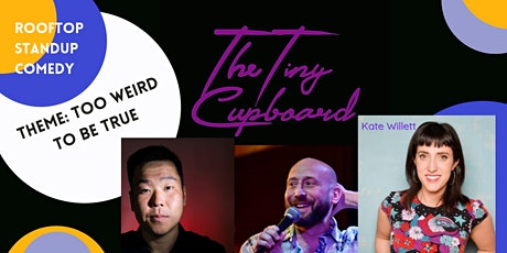 Rooftop Comedy at The Tiny Cupboard tickets