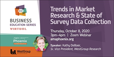 Trends in Market Research & The State of Survey Data Collection tickets