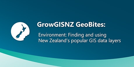 Environment: Finding and using New Zealand's popular GIS data layers tickets
