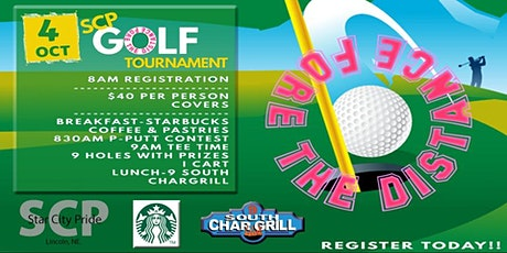 Fore the Distance - SCP Golf Tourney tickets