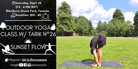 Sunset Flow - Outdoor Yoga Class in Toronto Park n°26 tickets
