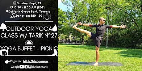Yoga Buffet + Picnic afterclass - Outdoor Yoga Class in Toronto Park n°27 tickets