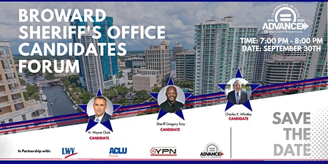 Broward County Sheriff's Virtual Candidate Forum tickets