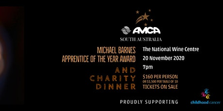 Michael Barnes Apprentice of the Year Award and Charity Dinner tickets