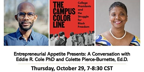 A Virtual Conversation With Dr.Eddie R. Cole & Dr.Colette Pierce-Burnette tickets
