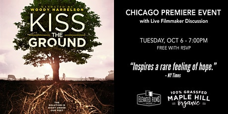 Kiss the Ground - Exclusive Screening sponsored by Maple Hill Creamery tickets